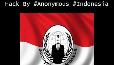 Situs Alex Nuerdin (Alexnono.com) di Serang Hacker Anonymous