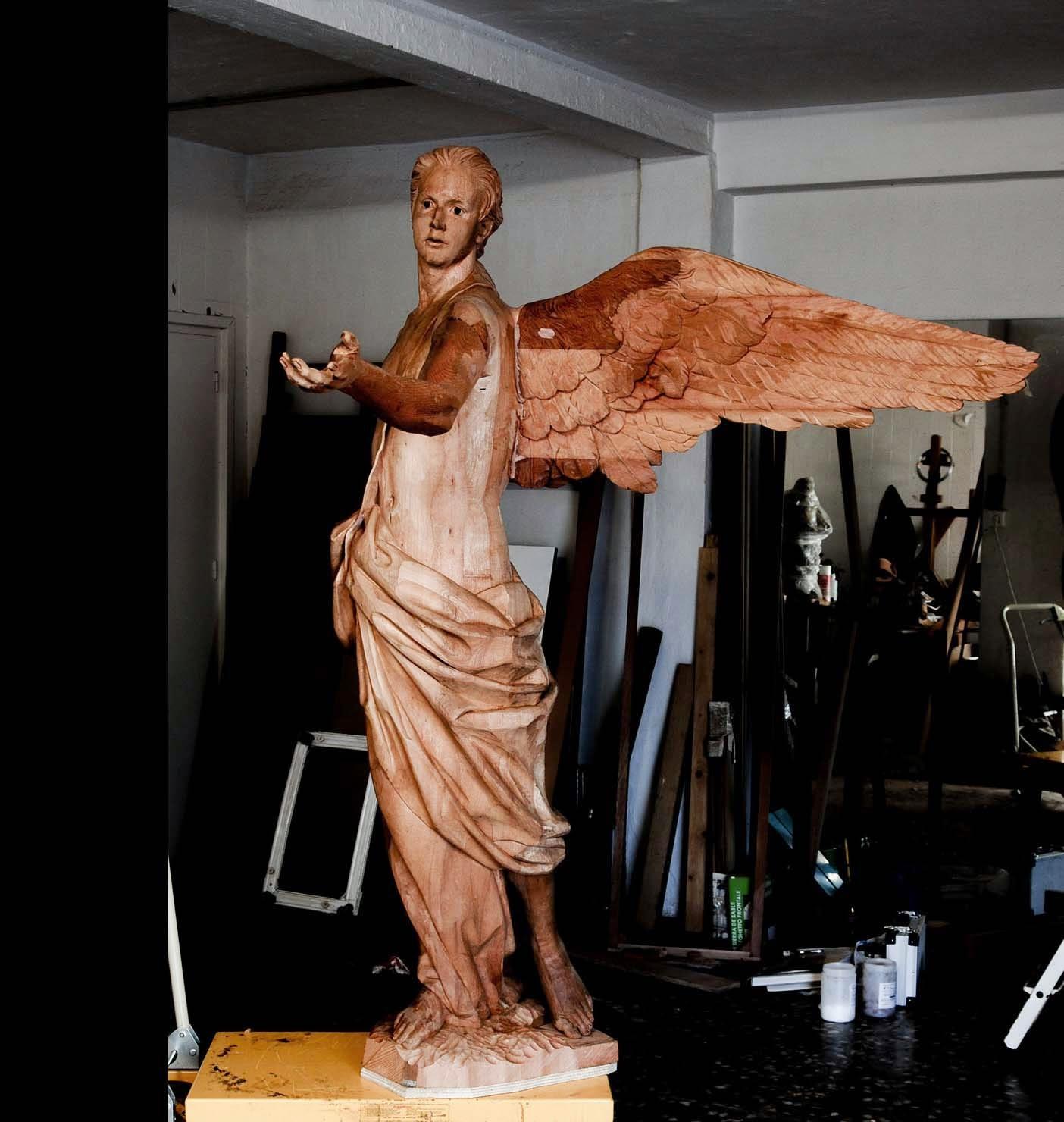 Ángel Semana Santa Tobarra escultura 26