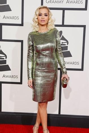 Vestidos usados en los premios Grammy 2014