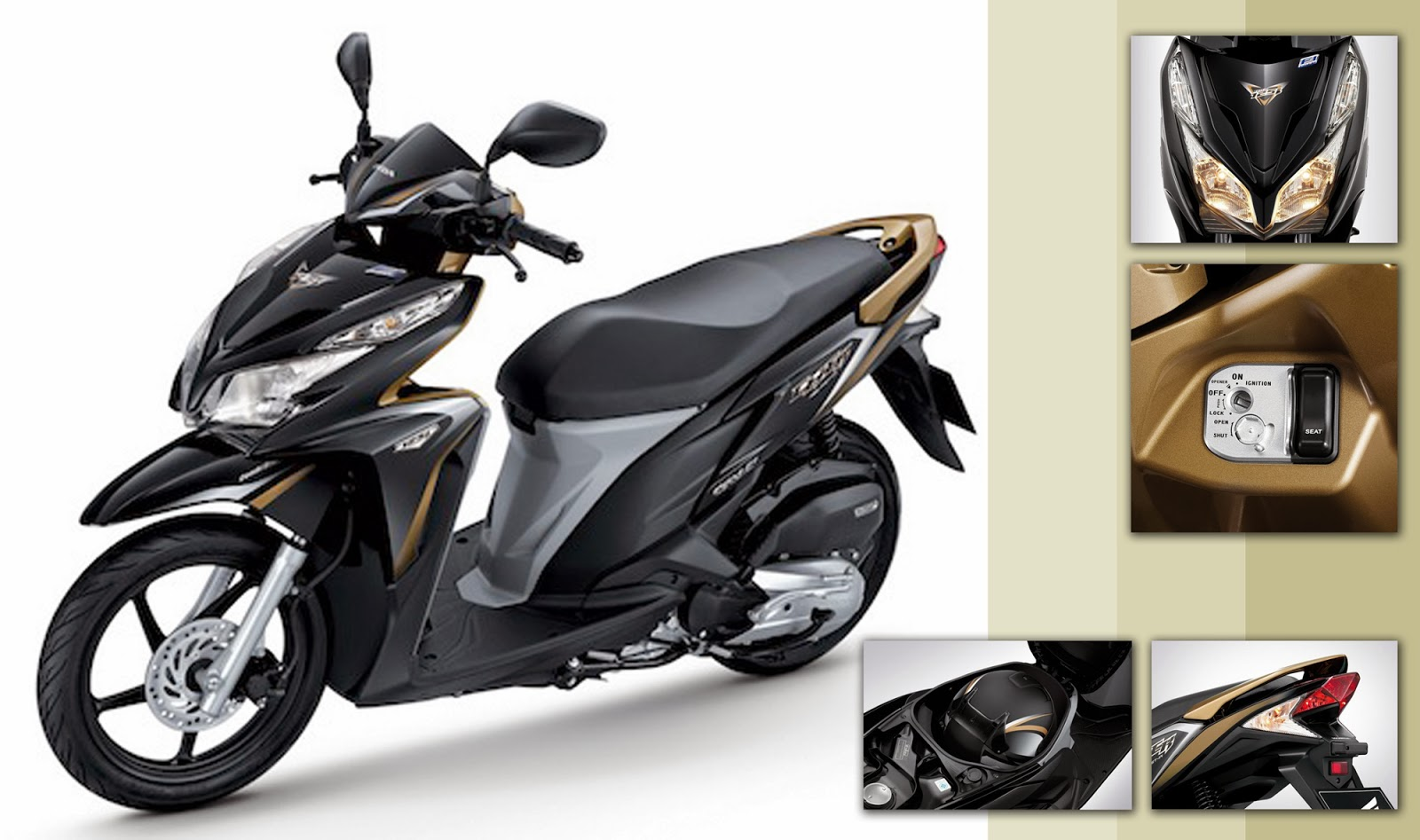 400 000 motor honda revo std abs rp 12 000 000 motor honda revo techno ...
