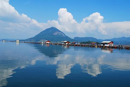 Panorama Waduk Jatiluhur Purwakarta Jawa Barat