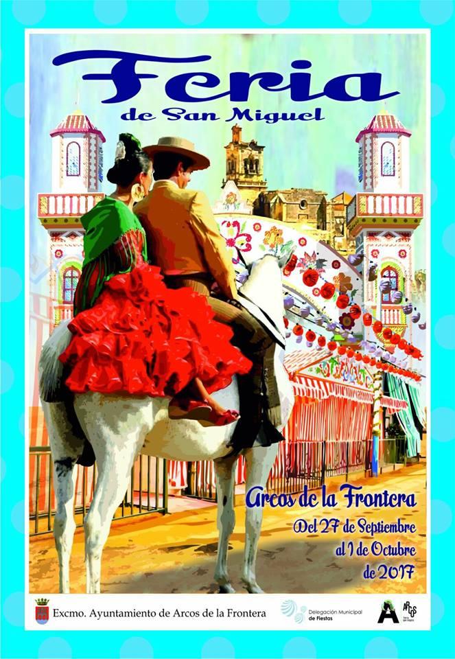 CARTEL FERIA SAN MIGUEL ARCOS 2017