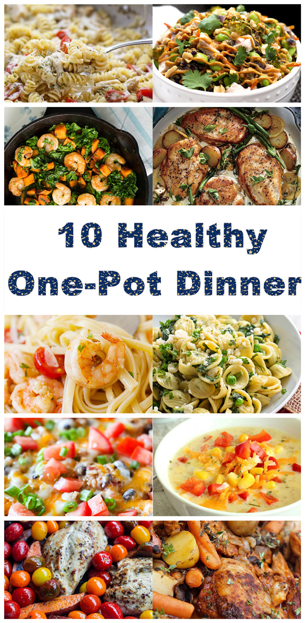 10 Healthy One-Pot Dinners