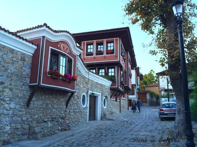 Casco antiguo Plovdiv, Bulgaria, Renacimiento búlgaro