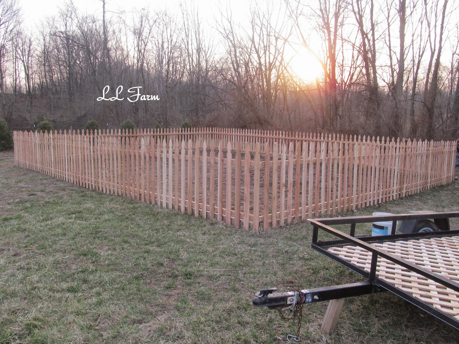 LL Farm The Garden Fence DIY
