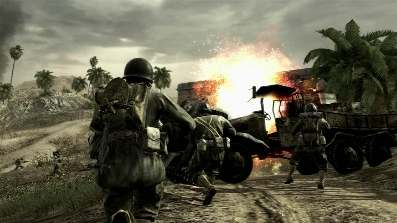 Call Of Duty 5 World At War Full Espa  Ol