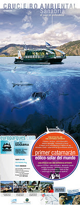 Cartel Europarques SANABRIA