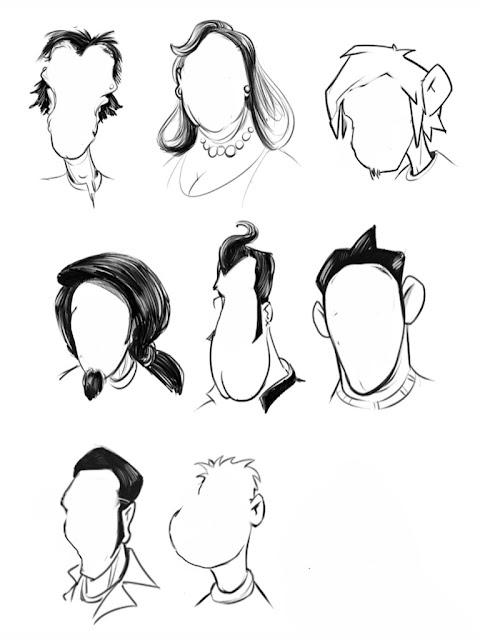 Cartoon Characters Heads : The helpful art teacher sketchbook pro for ipad using