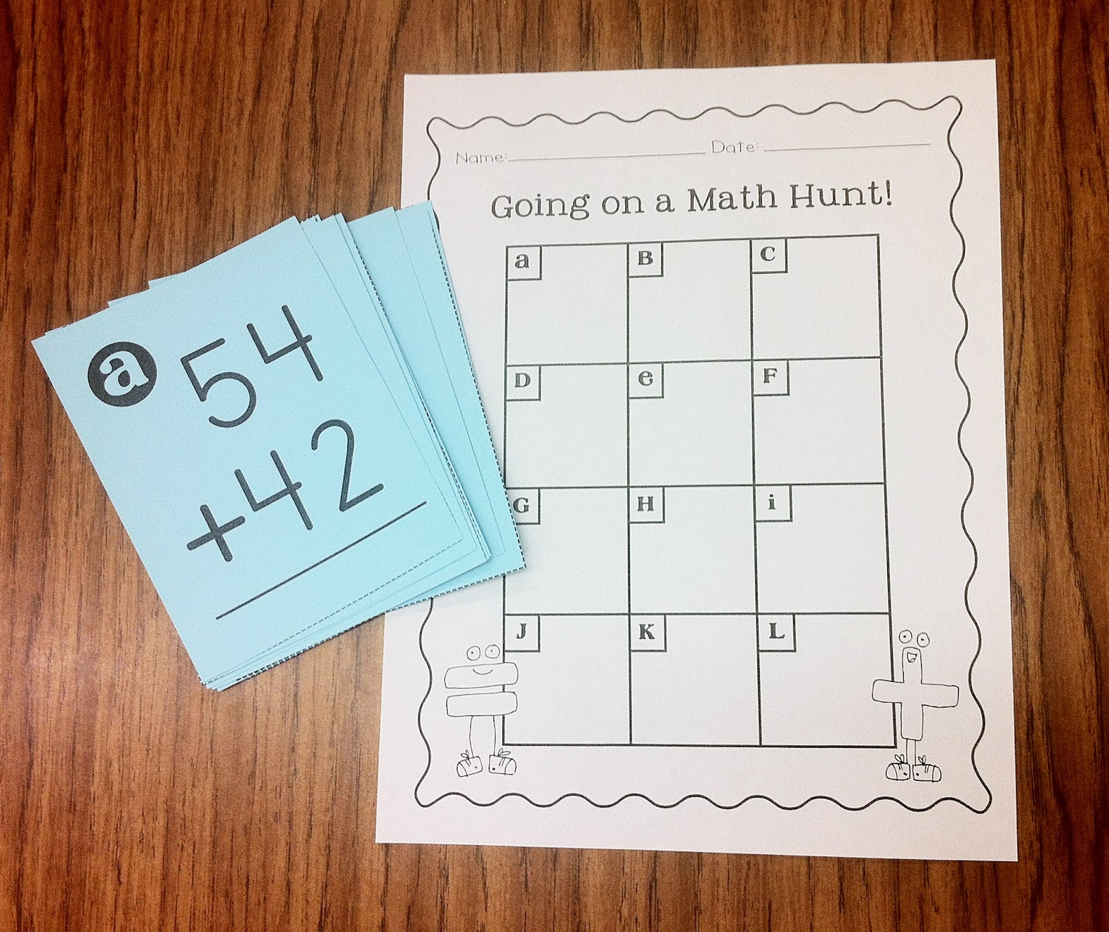 the teacher wife: Double-Digit Math Packet {Triple-Digit, Too!}