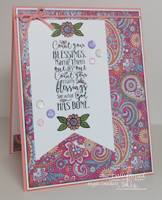 ODBD Boho Blessings, ODBD Boho Love, ODBD Beautiful Boho Paper Collection, Card Designer Angie Crockett