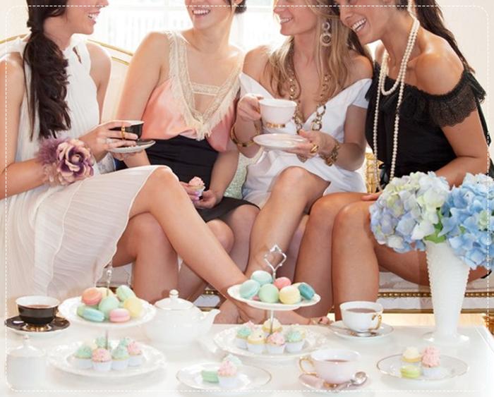 Chá com as amigas
