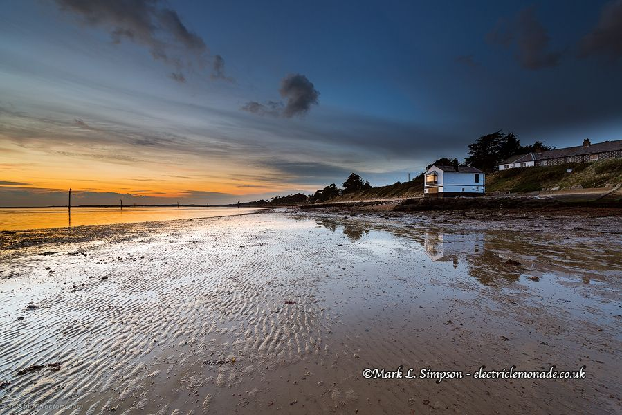 16. Lepe Sunset