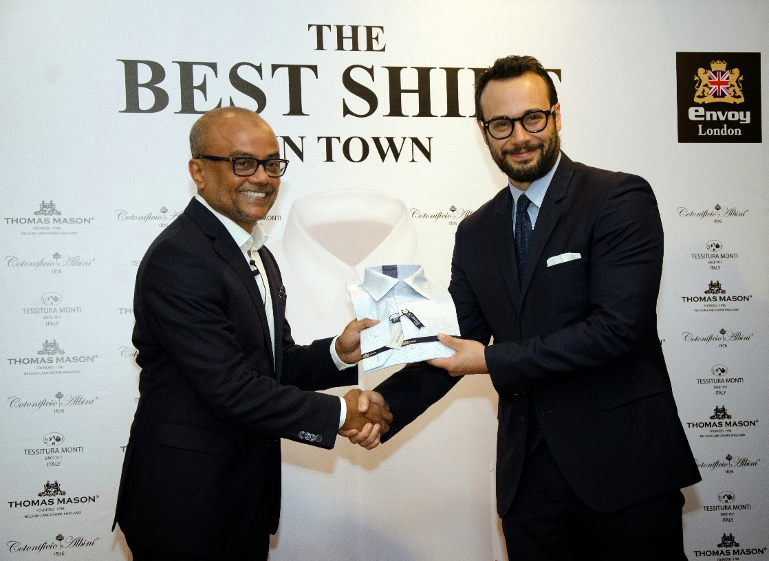 Envoy Mansion launches 'The Best Shirt in Town'