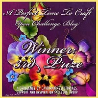 2019 November  3rd Place  Winner ~ Thank You!