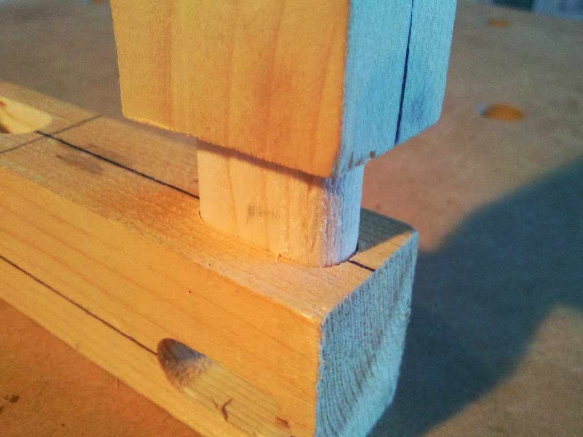 How to route a mortise and tenon joint, http://rummageinthegarage.blogspot.com.es/