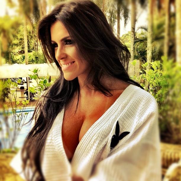 Atriz Vanessa Zotth Fez Para A Edi O Da Playboy De Janeiro