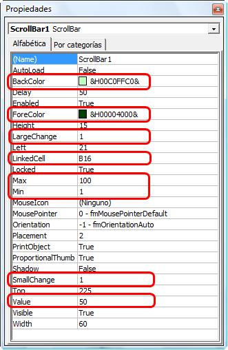 Excel prctico para todos listas circulares salimos del modo de edicin haciendo clic en programador modo diseo con estas propiedades hemos creado una barra que generar valores comprendidos urtaz Image collections