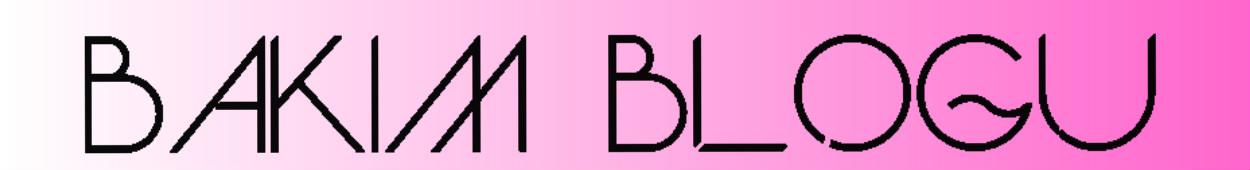 Bakım Blog Makyaj Blogu Kozmetik Cilt Saç Bakımı Alışveriş Blogu