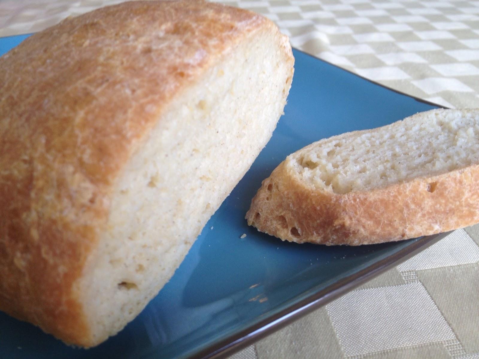 Gluten-Free Crusty Boule Bread