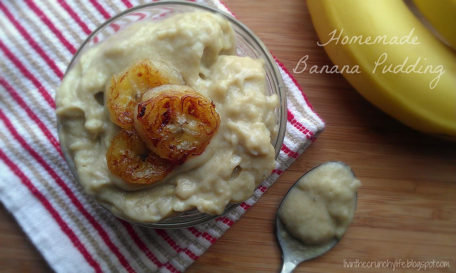 Banana Pudding (or pudding pops)