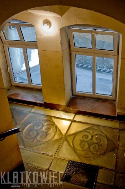 Cieszyn: szklane podłogi