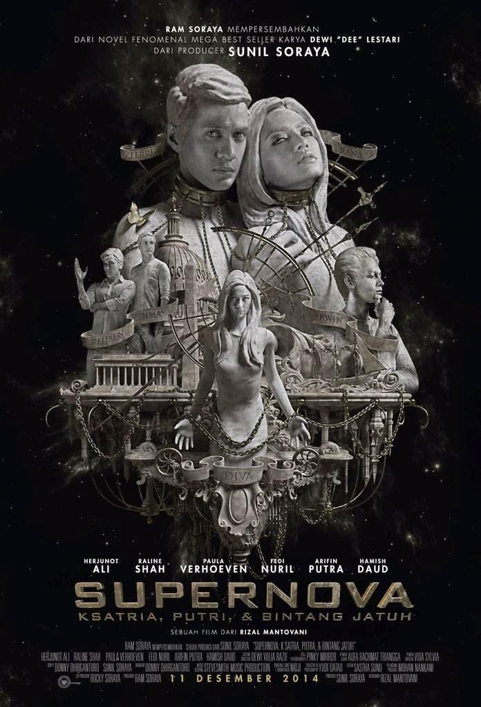 Film Supernova: Ksatria, Putri, & Bintang Jatuh 2014 Bioskop
