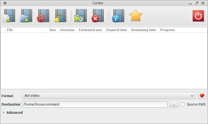 Curlew Multi-Converter for Linux