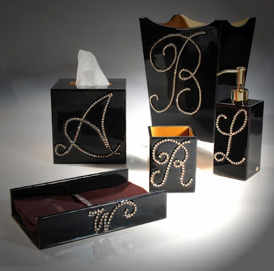 Monogrammed Bathroom Sets And Vanity Accessories Mike And Ally Ego
