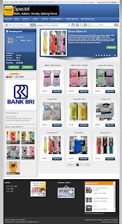 Gonjhor online store blogger template