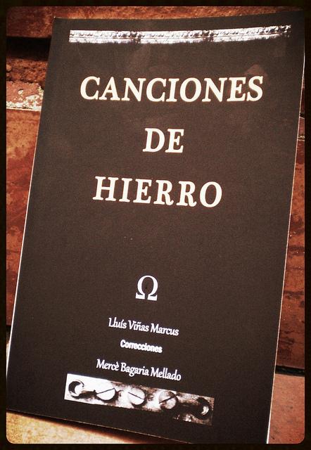 Canciones de hierro nuevo libro de poemas - Letras de hierro ...