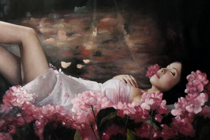 Kiéra Malone | French Figurative painter