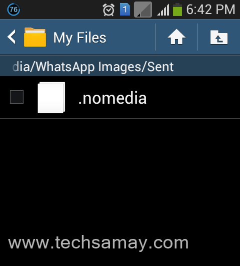 "Open File Manager Go to WhatsApp folder. After that open ""Profile ..."