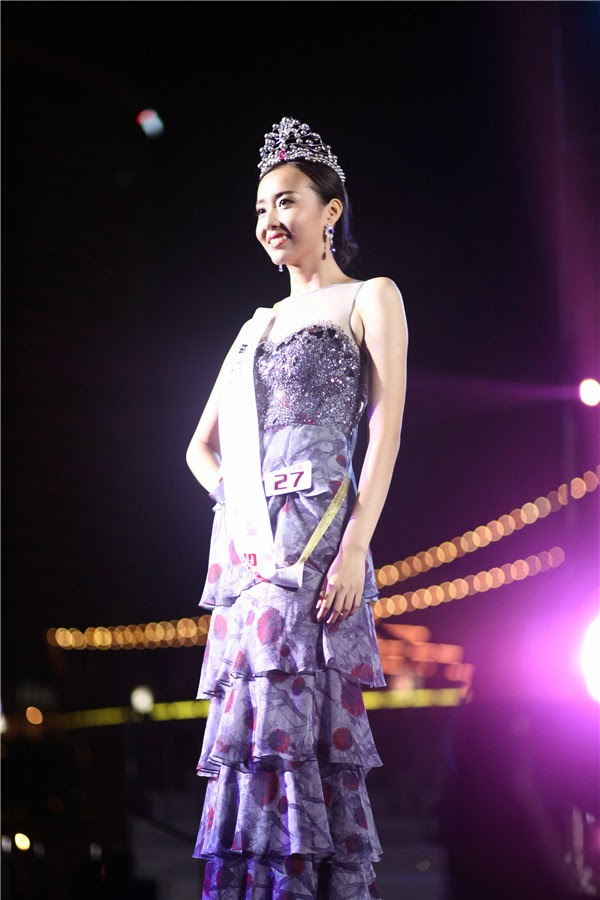 Miss World China 2014 winner Du Yang