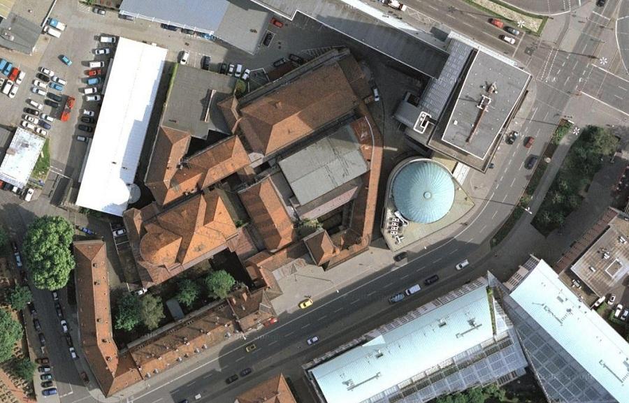 luftbildaufnahme (von oben)