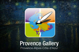 Provence Gallery, an application allowing you to to see La Provence through the eyes of the masters