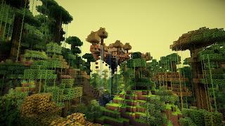 jungla de minecraft