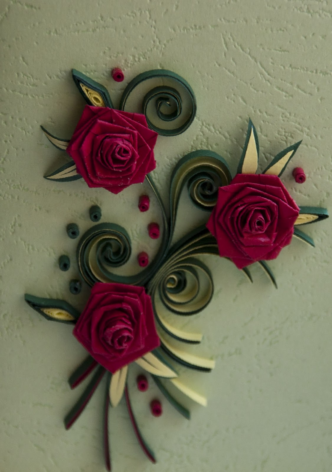 neli quilling art  quilling small cards