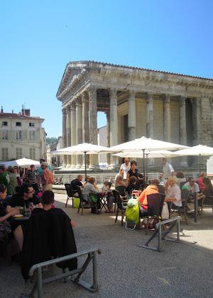 roman temple france