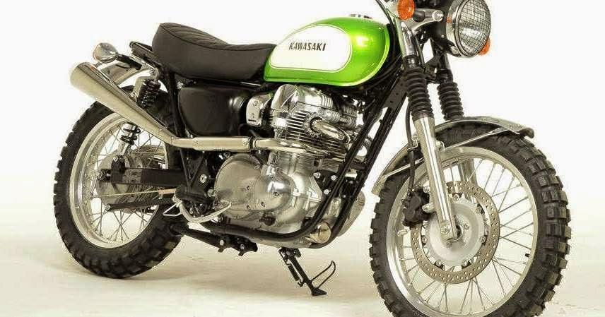 Kawasaki W800 Scrambler 2015