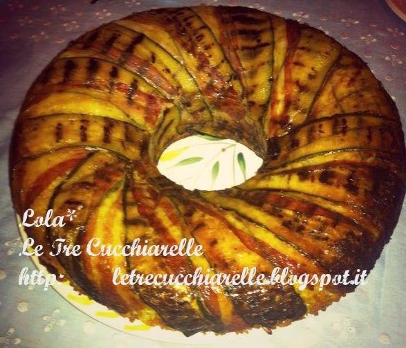 ciambellone rustico di zia antonella... con riso ermes e zucchine!