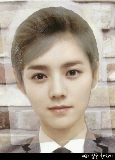 other kpkf face morphs of luhan celebrity photos