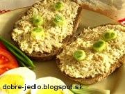 Zelerová nátierka s vajíčkami - recept