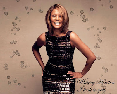 American Black Beauty Whitney Houston Wallpaper
