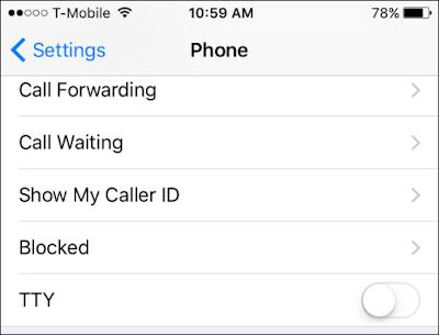 Cara memblokir nomor di iPhone