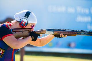 Zuzana Stefecekova - Eslováquia - Fossa Olímpica - Copa do Mundo ISSF de Tiro Esportivo 2013