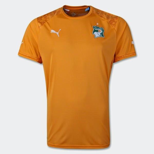 Jersey Negara Cote d'Ivoire - Piala Dunia 2014
