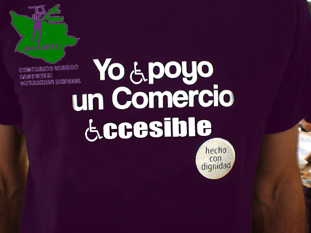 Yo apoyo un comercio accesible en Santurce