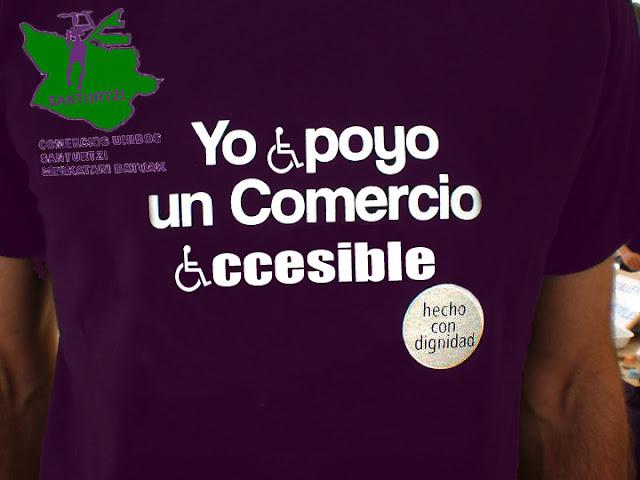 Yo apoyo un comercio accesible en Santurce