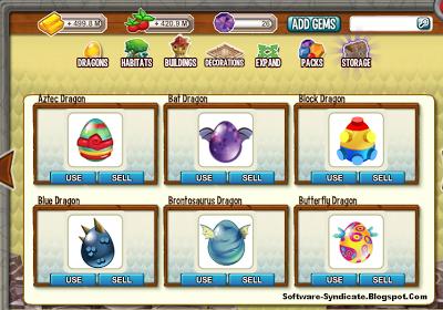 Dragon City Hack Get All Dragon and All Habitat Free 2014
