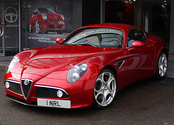 alfa romeo 8c world of cars. Black Bedroom Furniture Sets. Home Design Ideas